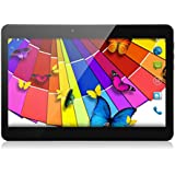 "Excelvan 10.1"" Zoll Pad Tablet PC 3G-Samrtphone Android 4.4.2 Dual-Core Dual SIM HD Touch Screen Bluetooth 3G WIFI Netzwerk GPS Dual Kamera Schwarz"