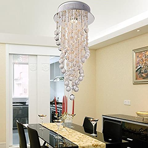 HuaJing® Simple and elegant modern crystal chandelier hanging wire a lamp modern crystal chandelier