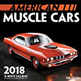 American Muscle Cars Mini 2018: 16 Month Calendar Includes September 2017 Through December 2018 (Calendars 2018)