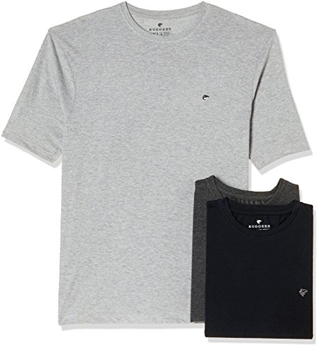 Ruggers Men's Solid Regular Fit T-Shirt (Pack of 3)(269969762_Assorted_Medium)