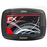 atFoliX Panzerschutzfolie für Garmin Zumo 390LM Panzerfolie - 3 x FX-Shock-Antireflex blendfreie stoßabsorbierende Displayschutzfolie