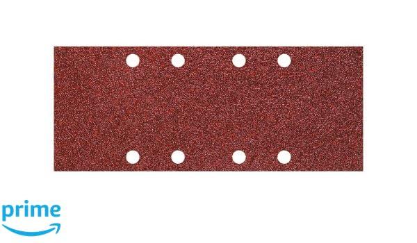 Wolfcraft 1961000 Patins abrasives Grain 40 93 x 230 mm Lot de 5