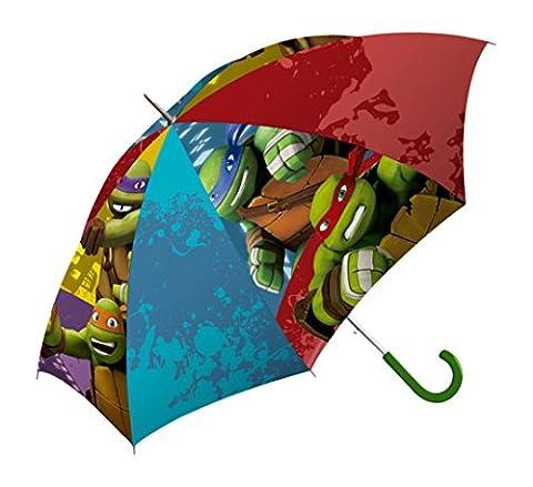 Teenage Mutant Ninja Turtles Parapluie Canne, 40 cm, Multicolore