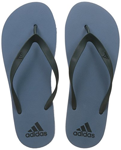 adidas Men's Adi Rib M Tacblu and Mysgrn Flip-Flops and House Slippers - 11 UK/India (46 EU) (BI4822)  available at amazon for Rs.420