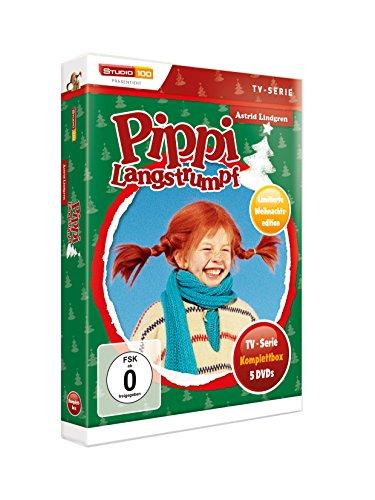 Pippi Langstrumpf - TV-Serie Komplettbox (5 Discs, Exklusivprodukt): Alle Infos bei Amazon