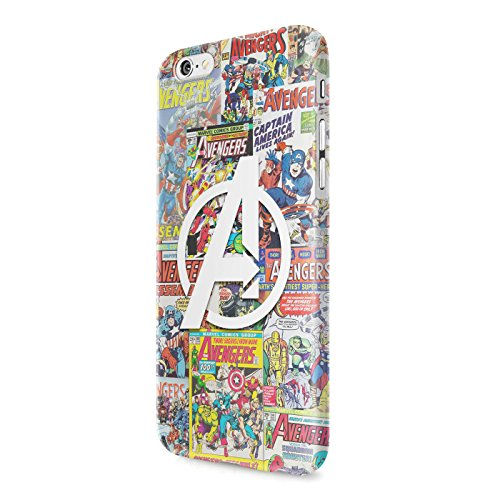 The Avengers Assemble Mighty Heroes Comics Collage Captain America Thor Hulk Ironman Black Widow Hawkeye Hard Snap-On Protective Case Cover For Iphone 6 PLUS / Iphone 6S PLUS