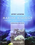 Marine Biology: International Edition: Function, Biodiversity, Ecology