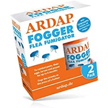 ARDAP Fogger Flea Fumigator 2x 100ml | Insect and bug killer for household and premises, Immediate and Long lasting effect | Killer Bomb Room Fogger Multi pack| Made in Germany