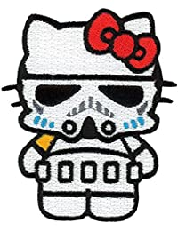 Velcro banda Velcro Star Wars Hello Kitty Stormtrooper Empire Dark Side Morale – Parche