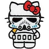 Velcro banda Velcro Star Wars Hello Kitty Stormtrooper Empire Dark Side Morale–Parche