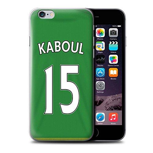 Officiel Sunderland AFC Coque / Etui pour Apple iPhone 6+/Plus 5.5 / Pack 24pcs Design / SAFC Maillot Extérieur 15/16 Collection Kaboul