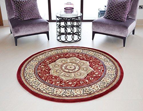royal teppiche orient perser style heritage classic traditionelle hand geschnitzte teppich rund. Black Bedroom Furniture Sets. Home Design Ideas