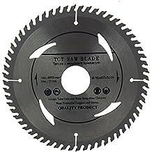 Hoja de sierra circular 160mm con anillos 30mm 28mm 25mm 22mm 20mm perfecto para discos de corte de madera circular 160mm x 32mm x 60dientes