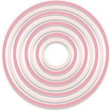 Sizzix Thinlits Troqueles 8PK Círculos Concéntricos