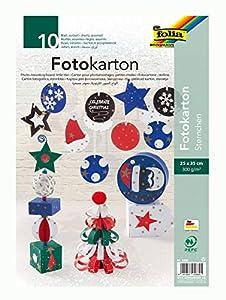 Folia 5889 Arte de Papel 10hojas - Papel Decorativo (Arte de Papel, 10 Hojas, Niño/niña, 300 g/m², Caja, 25 cm)