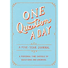 One Question a Day: A Five-Year Journal