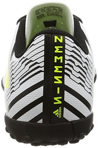 adidas Jungen Nemeziz 17.4 Tf J Fußballschuhe Weiß (Footwear White/solar Yellow/core Black)