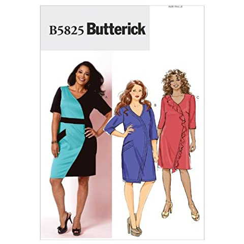 Lot Patron Couture - Butterick Patterns b5825 Taille RR robe pour femme