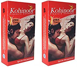 Kohinoor Pleasure Condoms(Pack of 2, 20s)