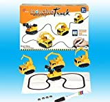 ZFLT Magic Induktive Auto Spielzeug Set Kinder Elektrische Spielzeug Auto Modell mit Batterie 6 Modelle Randomized Scheme (2)