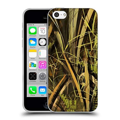 Head Case Designs Nasse Ente/Wasservogel Saison Camouflage Jagd Soft Gel Hülle für iPhone 5c