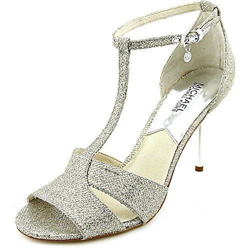 Michael Michael Kors Diana Open Toe Synthétique Sandales silver