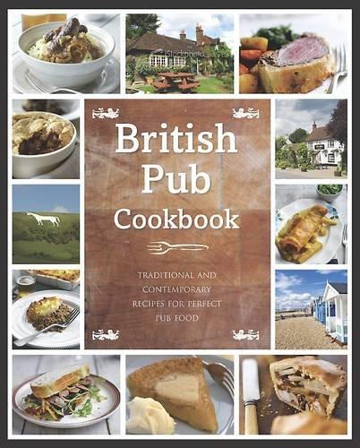 The British Pub Cookbook (Regional Kitchen) - Moderne Holz-finish Tisch