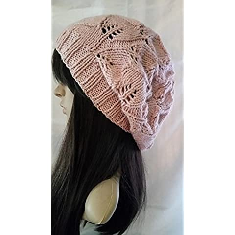 Knit Beanie le donne della moda inverno Slouch Beret Hat