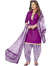 ZAFFAZ Unstitched Cotton Dress Material Free Size and Delivery BP 604