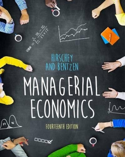 Managerial Economics por Eric Bentzen, Mark Hirschey