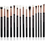 Jessup 15Pcs Professional Makeup Brushes Set Make Up Brush Tools Kit Eye Liner Shader Wood Handle Natural-synthetic...