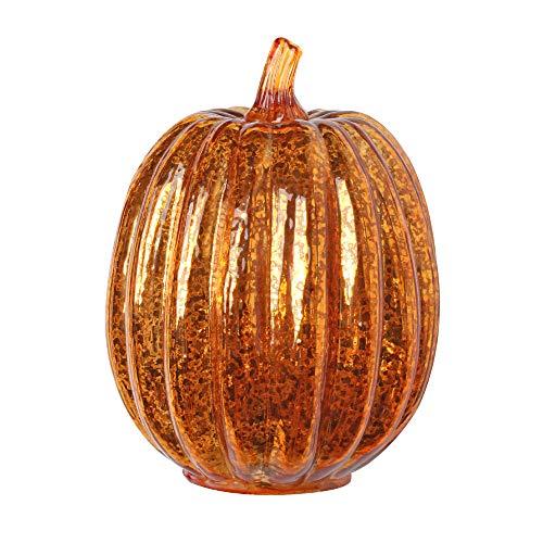 Winpavo Halloween-Deko Halloween Party Requisiten Calabazas De Cristal Led De Luz Con Temporizador para La Decoración De Halloween Otoño