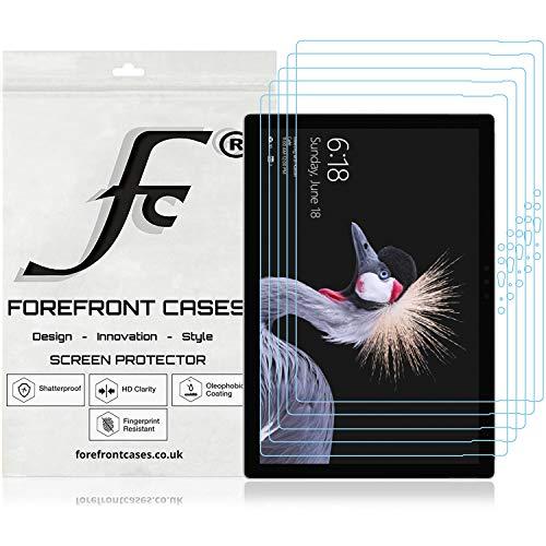 Forefront Cases Microsoft Surface Go 10 Zoll Displayschutz Displayschutzfolie [5 STÜCK] | Ultraharte Polyethylenterephthalat (PET) Kunststoff | Ultradünn 0.1mm Staub & Kratzfest | HD-Qualität