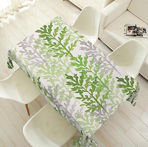 Preisvergleich Produktbild Z&N Europäische grüne Baumwolle und Leinen Tischdecken Kühlschrank Abdeckung Tuch geeignet für Heimtextilien können Staub Verschleißfestigkeit Umwelt und Gesundheit Tischdecken D85*85cm