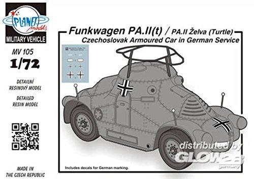 Planet Models mv105 - Modèle Kit Radio PA IIT/PA II Chariot zelva Turtle