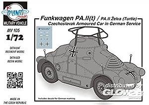 Planet Models mv105-Maqueta de Radio Carro PA IIT/PA II Zelva Turtle