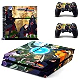 CIVIQ Anime Naruto to Boruto PS4 Skin Sticker Decal pour Sony Playstation 4 Console et 2 Controller Skins PS4 Stickers Vinyl Accessory