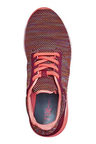 next Femme Chaussures De Course Aspect Tricot Rose