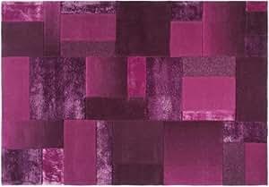 Tapis en patchwork -, lilas, 170 x 240 cm