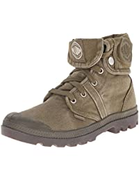 Palladium PALLABROUSE BAGGY~DK OLIVE/DK GUM~M - Casual de lona mujer