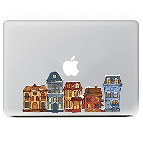 Macbook Skin Stickers, Morbuy Removable Art Creative Anti-scratch Coating Skin Vinyl Protective Stickers (11'', Fairy tale world)