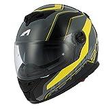 Astone-Helmets-GT800-WIRE-BYL-Casque-Moto-Integral-GT-800-Noir-Jaune-Taille-L