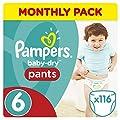 Pampers Mega Plus Baby-Dry Pants