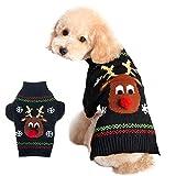 LAAT. Animale Domestico Maglieria Maglione Maglione Maglia Cane Natale Maglione Cucciolo di Natale Vestiti per Animali Natalizi Cucciolo Costume Maglione Pullover Animale Domestico(M)