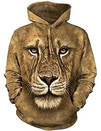 The Mountain Lion Warrior Hoodie braun