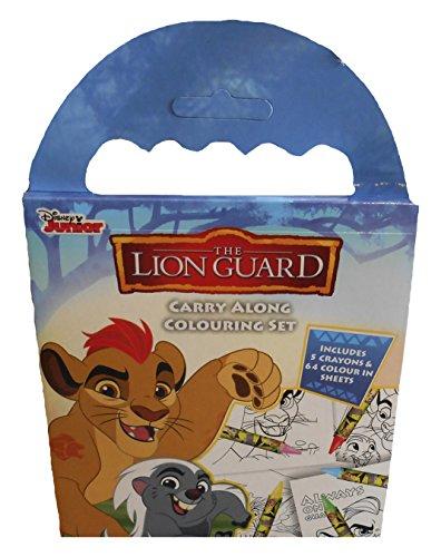 Anker Lgcar Lion Guard Transporter kit de coloriage