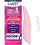 LADY GOReusable Female Urinal Device(FUD), Stand-up and peePink (Pack Of 1)