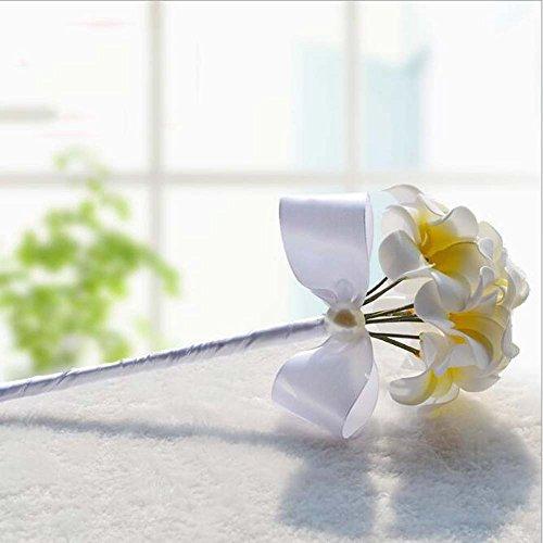 18 Calla Lily Bridal Bouquet Brosche Bouquet Brautjungfern mit Blumen Hochzeit Supplies