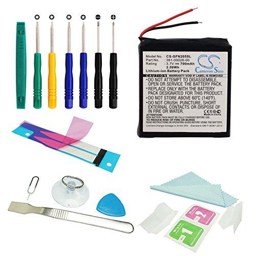 cameron-sino-700-mah-batteria-ricaricabile-per-garmin-forerunner-205-forerunner-305-forerunner-305i-