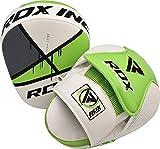 RDX Maya Hide Pelle Coppia Scudo Sciopero MMA Gancio Jab Pastiglie Boxe Thai Pao Arti Marziali Colpitori Allenamento